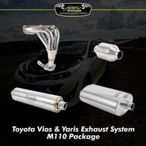 vios yaris exhaust system m110 my
