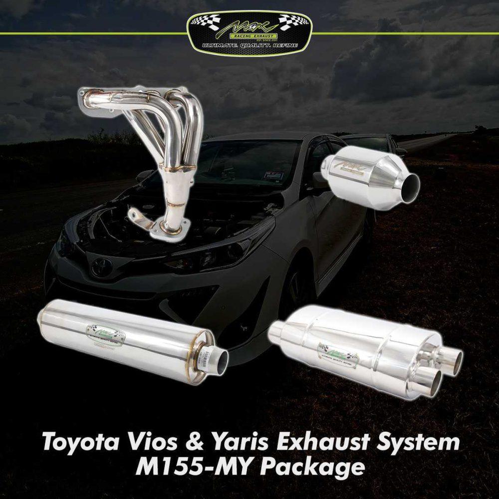 vios yaris exhaust system m155 my