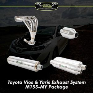vios yaris exhaust system m155 my