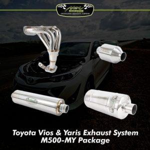 vios yaris exhaust system m500 my